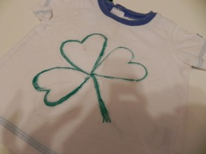 St. Paddy's Day 3 Leaf Clover Tee